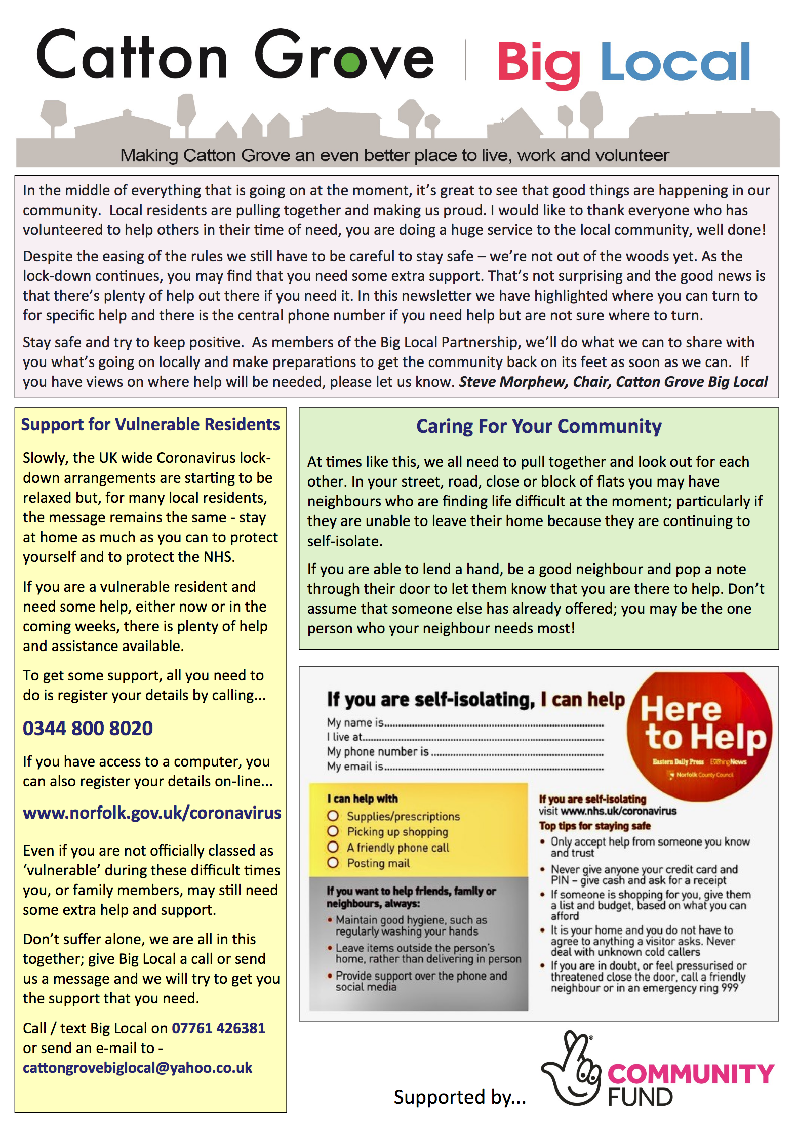 Catton Grove Newsletter