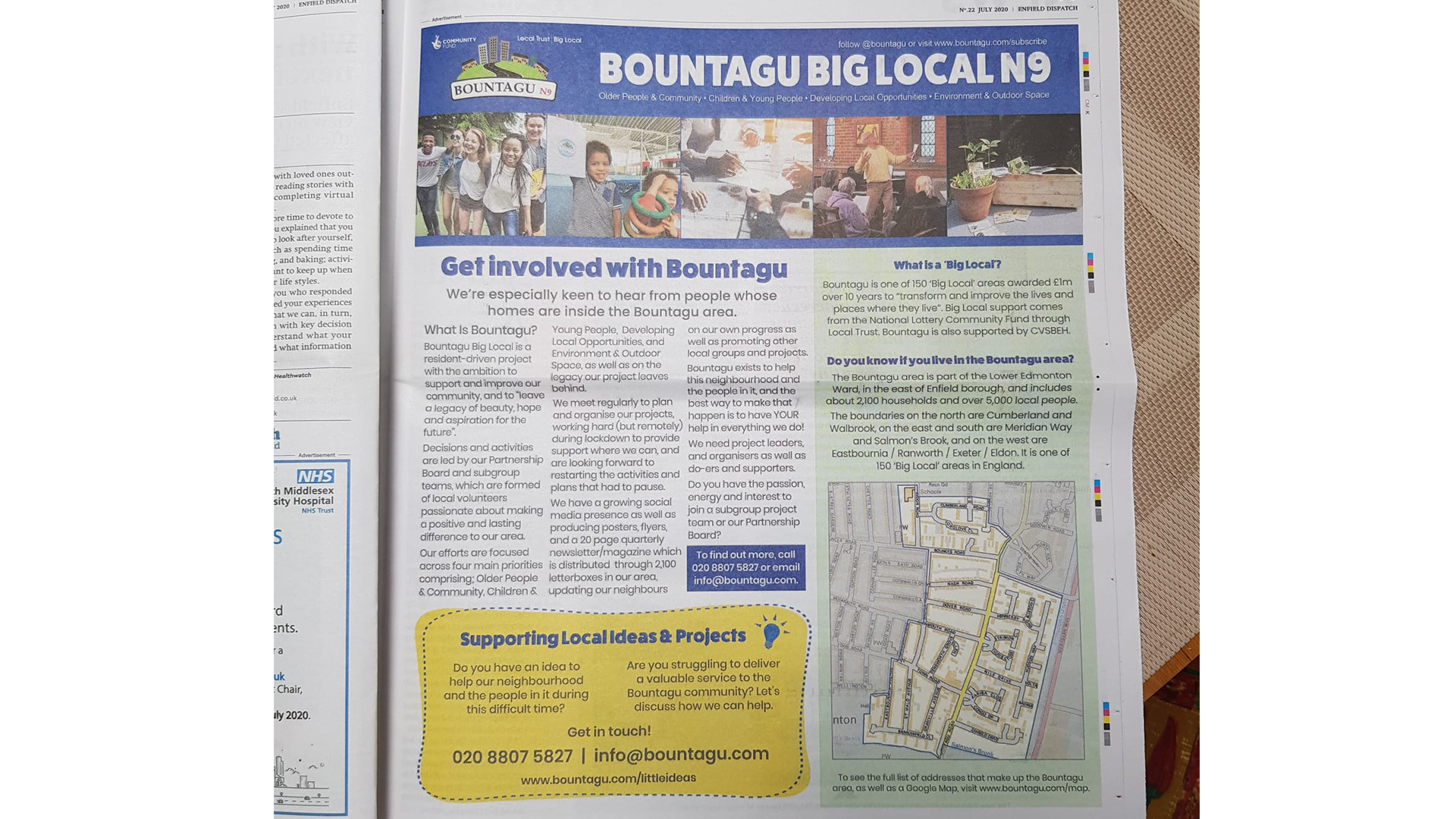 Bountagu Big Local in the News
