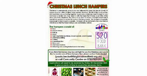 Christmas Lunch Hampers